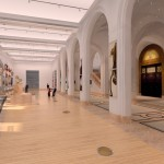 Architectural rendering of the new Smith Gallery at the New-York Historical Society.  Credit: Platt Byard Dovell White Architects