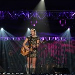 "Colbie Caillat performs on ""Front Row Center."" Photo by Mark Weiss."