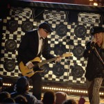 "Cheap Trick performs on ""Front Row Center."" Photo by Eddie Maluck."
