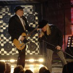 "Cheap Trick performs on ""Front Row Center.""  Photo by Eddie Maluk."