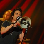 "Train performs on ""Front Row Center.""  Photo by Mark Weiss."
