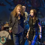 Robert Plant with girl Credit Erika Goldring 2011